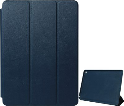 ApeCases Branded Premium Vegan Leather (Black) Colour Trifold Flip Case Cover For Xiaomi Mi Pad (Sleep/Wake)