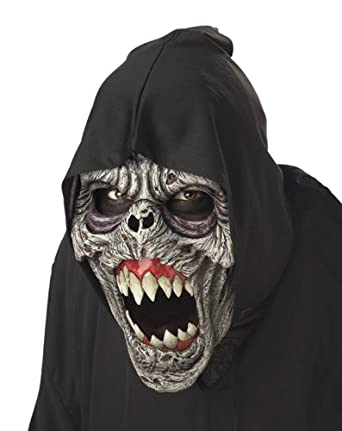 California Costumes Men's Night Fiend Mask,Assorted,One Size