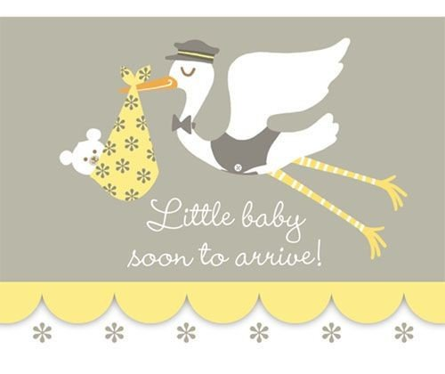 Little Baby, Big Love Baby Shower Invitations 8 Pack