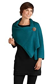 Pure Handknit Original Button Fair Trade Wrap