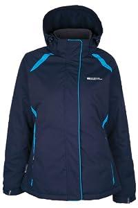 Mountain Warehouse North Womens Ski Jacket Bleu Marine 36