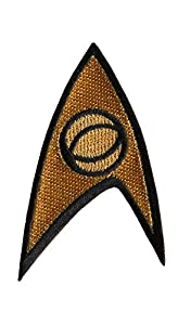 Starfleet Science Officer Insignia Star Trek Costume Patch by Patch World