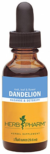 Herb Pharm Certified Organic Dandelion Extract for Cleansing and Detoxification - 1 Ounce