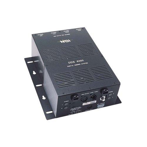 Leviton N600P-D20 4-Channel 1200 Watt/Channel 4800 Watt Max 20-Amp Power Supply Cord, Dimmer/Relay System, 240-Volt