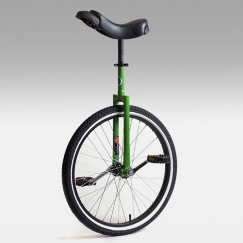 Buy Low Price Club 24 Inch Freestyle Unicycle – Green (UNI-CLUB-24GRN)