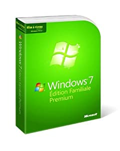 Microsoft Windows 7 Home Premium Upgrade French (vf)