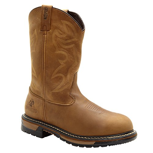 Mens Branson Roper Waterproof Western Boot picture
