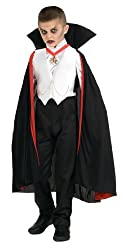 Dracula Costumes Deluxe Dracula Childs Halloween Costume