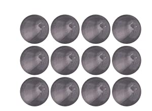Gray Black Diamond Transparent Czech Glass Round Beads 4mm