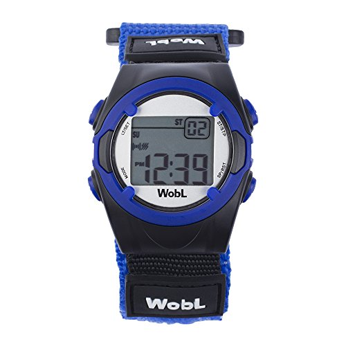 Wobl 8 Alarm Vibrating Watch - Blue front-800517