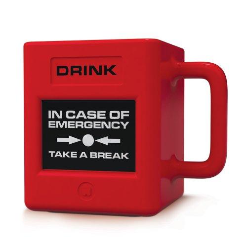 Mustard Take a Break Mug - Coffee Mug with Take a Break Design