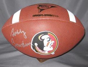 Bobby Bowden Signed Seminoles Football