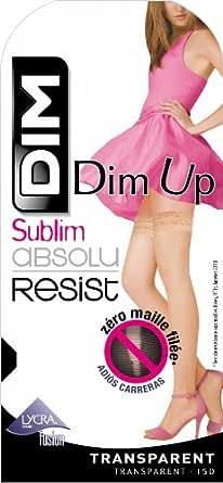 Dim Up Sublim Absolu Resist - Bas autofixants - 15 deniers - Femme - Noir - 1