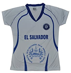 Buy El Salvador Women Jersey Size Medium by PerUsasports