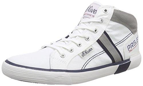 s.Oliver 15209, Herren Hohe Sneakers, Weiß (WHITE COMB. 110), 45 EU (10.5 Herren UK) thumbnail