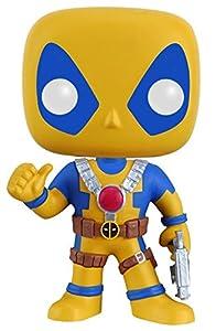 POP Marvel: Deadpool - Yellow Blue Amazon Exclusive