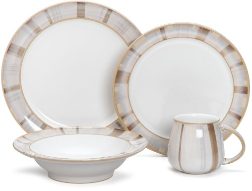 Denby Truffle Layers 4-Piece Place Setting, Service For 1