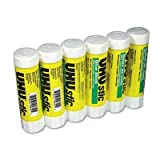 UHU 99835 Stic Clear Glue Stick, 1.41 oz, (6 Pack)