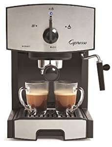 Capresso EC50 Stainless Steel Pump Espresso and Cappuccino Machine by Capresso