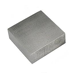 Jewelers Bench Block Silversmith Flat Anvil Tool 2 1/2\