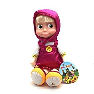 "Multi Pulti Masha, Russian Talking Toy! New!!!Popular Cartoon Character "" Mash And The Bear"""