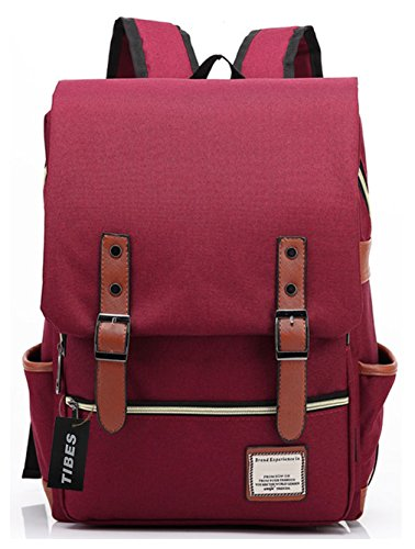tibes-cool-style-daypack-ecole-sac-a-dos-pour-les-femmes-vin-rouge