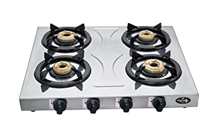 Stainless Steel Hob LPG Gas Cooktop (4 Burner)