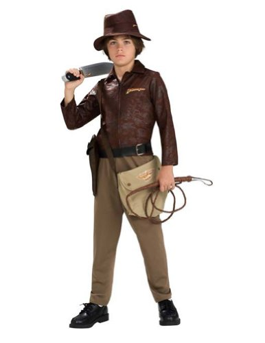 Indiana Jones Deluxe Child Medium Kids Boys Costume
