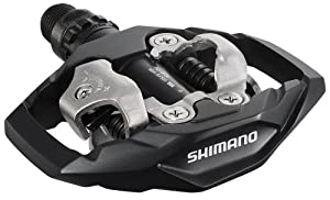 Shimano DEORE M530 Clipless Pedals - Black, Clipless