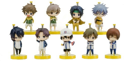 One Coin Grande Figure Collection The Prince of Tennis 10 piece by Sol International