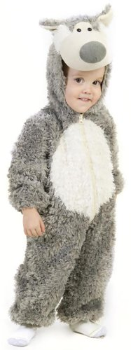 Boys Big Bad Wolf Costume, X-Small
