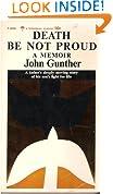 Death Be Not Proud;: A Memoir