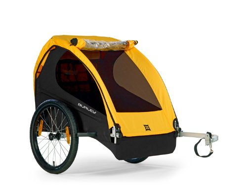 Burley Design Bee Bicycle Trailer - Yellow Picture