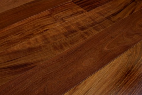 Brazilian Walnut Lapacho Solid Prefinished Wood Flooring Sample