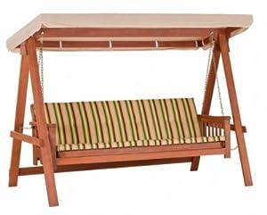Altalena dondolo letto in legno stilizzato 3 posti mod for Altalena amazon