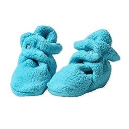 Zutano Newborn Unisex-Baby Fleece Bootie, Pool, 18 Months