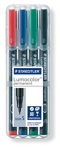 staedtler-313-wp4-lumocolor-universal-permanent-superfine-pens-assorted-colours