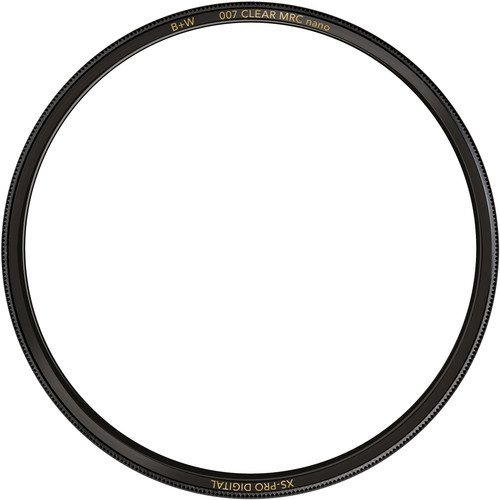 B+W 72mm XS-Pro Clear with Multi-Resistant Nano Coating (007M)