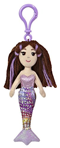"Merrisa Clip-On ~6.5"" Mini-Plush: Sea Sparkles Mermaid Plush Doll Series - 1"