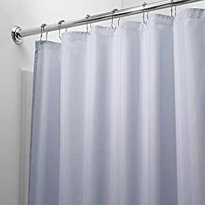 Mildew Free Waterproof Vinyl Light Blue Shower Curtain Liner Light Blue Home
