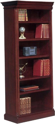 80in High Left End Facing Open Bookcase by DMI Office Furniture