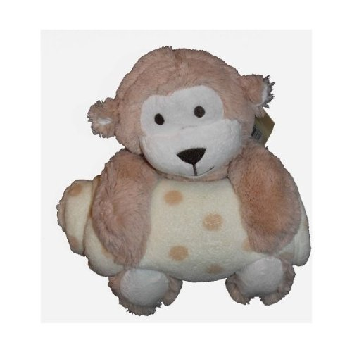 Beansprout Plush Tan Monkey With Blanket front-1019376
