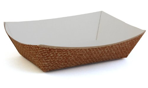 Southern Champion Tray 0563 #100 Clay Coated Paperboard Hearthstone Food Tray, 1-lb Capacity (Case of 1000) (1lb Paper Trays compare prices)