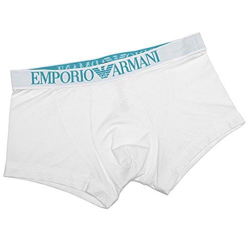 (エンポリオアルマーニ) EMPORIO ARMANI エンポリオアルマーニ ボクサーパンツ メンズ EMPORIO ARMANI 111389 4P547 00010 アンダーウェア WHITE[並行輸入品]
