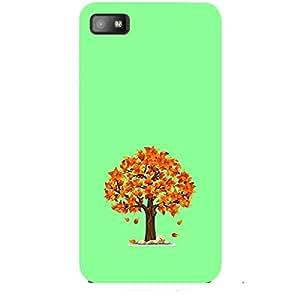 Skin4gadgets Fall Tree Colour - Light Sea Green Phone Skin for Z10
