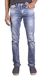 Unison Slim Fit Light Blue Ffreak Jeans For Men