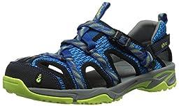 Ahnu Women\'s Tilden V Sport Sandal, Leaf Tahoe, 9 M US