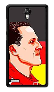 """Humor Gang F1 God Printed Designer Mobile Back Cover For """"Xiaomi Redmi Note - Xiaomi Redmi Note 4G"""" (3D, Glossy, Premium Quality Snap On Case)"""