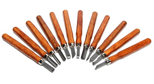 Wood Carving Chisel Set- 12 pc Professional Wood Carving Tools