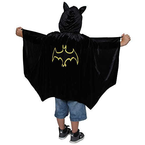Hooded Black Bat Cloak